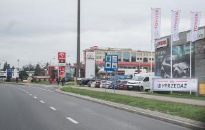 Grunwaldzka - aleja dealerów samochodowych