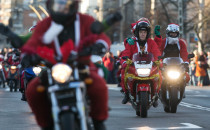 Mikołaje na motocyklach przejadą przez...