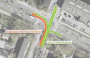 Jak poprawić sytuację na skrzyżowaniu Morskiej i Kartuskiej w Gdyni?