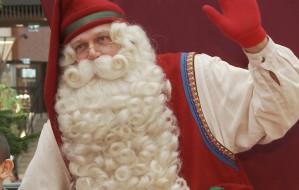 Mikołaj z Laponii przyleciał do Gdańska