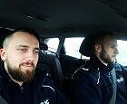 Gdańscy policjanci uratowali dziecko w Krakowie
