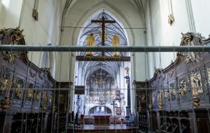 Sklepienia i filary w kościele św. Mikołaja przestały się ruszać