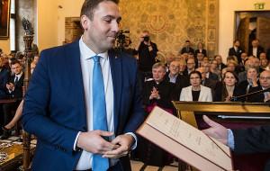 Adamowicz wskazał nowego zastępcę. Koalicja od poniedziałku