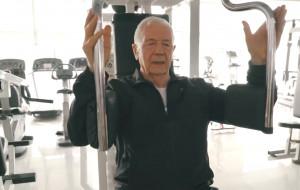 Niesmowity 88-latek. Stanisław Bała wybrał siłownię zamiast zastrzyków
