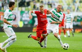 Miedź Legnica - Lechia Gdańsk 0:0. Lider zremisował z beniaminkiem