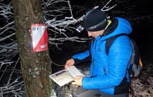 Harcowaliśmy nocą po lesie z mapą