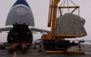 80-tonowy ładunek odleci z Rębiechowa