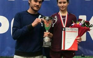 Medale trójmiejskich tenisistek w halowych mistrzostwach Polski młodziczek