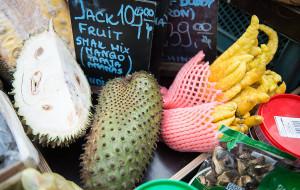 Durian i jackfruit na straganie w Gdańsku