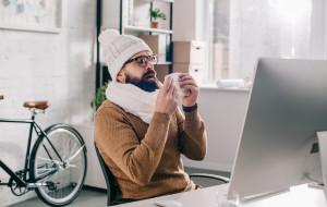 Rower a przeziębienie - kiedy lepiej zostać w domu?