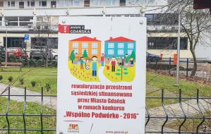 Gdańsk. Pieniądze na zagospodarowanie podwórek