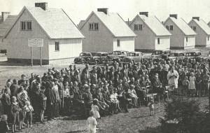 Fińskie domki, czyli górnicze osiedle nad morzem