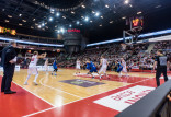 Wyjątkowa oprawa meczu koszykarzy reprezentacji Polski w Ergo Arenie
