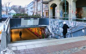 Remont przejścia pod al. Niepodległości w Sopocie