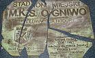 Znalazła się tablica sprzed stadionu w Sopocie