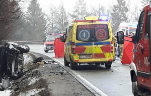 Dwie ofiary wypadku pod Gdańskiem