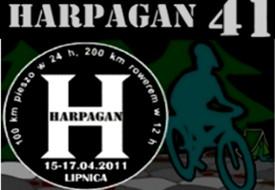 Harpagan 41, czyli przez pustynię z echem w bidonie