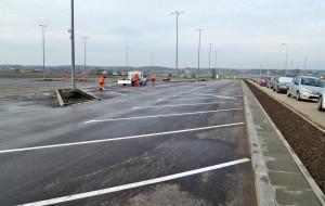 Lada dzień otwarcie parkingu na 400 samochodów przy PKM Rębiechowo
