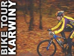 Bike Tour Gdynia - finał, Karwiny 26.10.2002