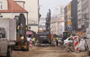 Gdynia: przebudowa ulicy Abrahama do czerwca