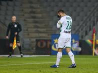 Korona Kielce - Lechia Gdańsk 0:0. Flavio Paixao spudłował z karnego