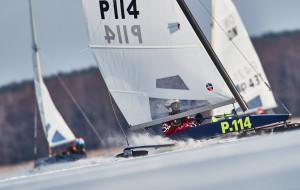 Gdynianin Michał Burczyński mistrzem świata w żeglarstwie lodowym