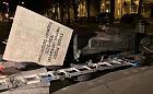 Pomnik ks. Jankowskiego przewrócony w nocy