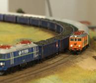 Miniaturowy świat kolei w Galerii Metropolia