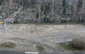 Nowe porządki przy cmentarzu Oksywskim