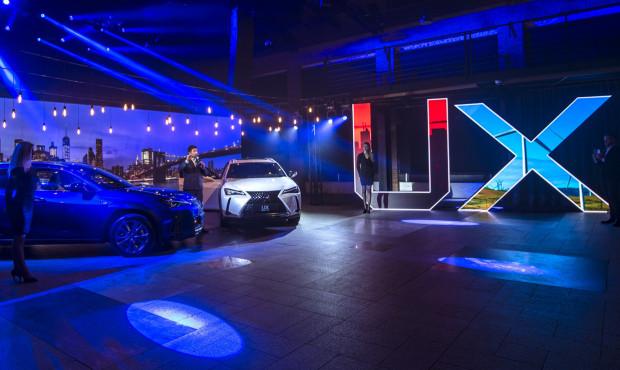 Premierowy tydzień nowego Lexusa UX