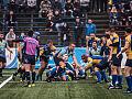 Inauguracja rugby. Ogniwo Sopot - Arka Gdynia, Lechia Gdańsk - Skra Warszawa.