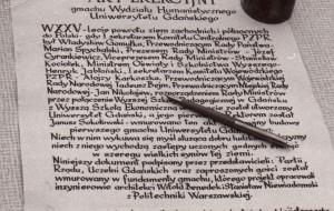 Uniwersytet Gdański skończył 49 lat