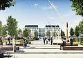 Nowy plac miejski i biurowce w centrum Gdyni