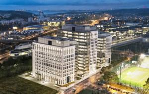 Trzy nowe wieże biurowe w Gdyni