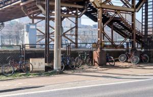 Będą stojaki rowerowe przy SKM Stocznia