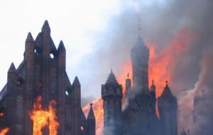 Po tragedii w Paryżu: Przypominamy pożar św. Katarzyny