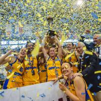 Arka Gdynia pokonała Ślęzę Wrocław 65:60  i zdobyła brązowy medal