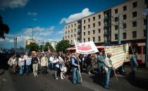 Związkowcy z Solidarności przemaszerowali...