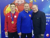 Maksymilian Murszewski mistrzem Europy w kung fu