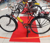 Obejrzyj zabytkowe rowery w Rumi