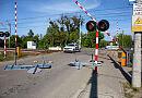 Zamknięte przejazdy kolejowe na Oruni i św. Wojciechu