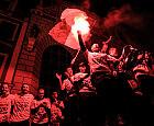 Lechia Gdańsk świętowała. Tysiące kibiców na Długim Targu