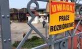 Ruszyła rozbiórka targowiska w Chyloni