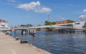 Gdańsk: kładka opuszczona na 2,5 godz. we wtorek