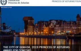 """""""Hiszpański Nobel"""" dla Gdańska"""