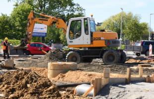Remont na Dąbka i Kwiatkowskiego przedłuży się do sierpnia