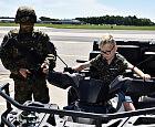 Żołnierze spełnili marzenie 7-latka, walczącego z nowotworem