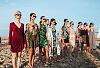 Pokaz mody na plaży w Sopocie