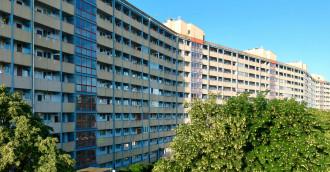 Falowce - największe bloki w Trójmieście