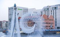 Water Show: akrobacje nad Motławą